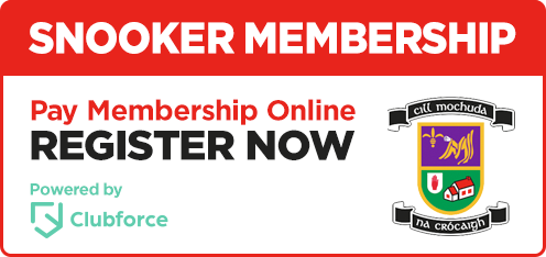 Kilmacud Crokes Snooker Membership - Pay Online