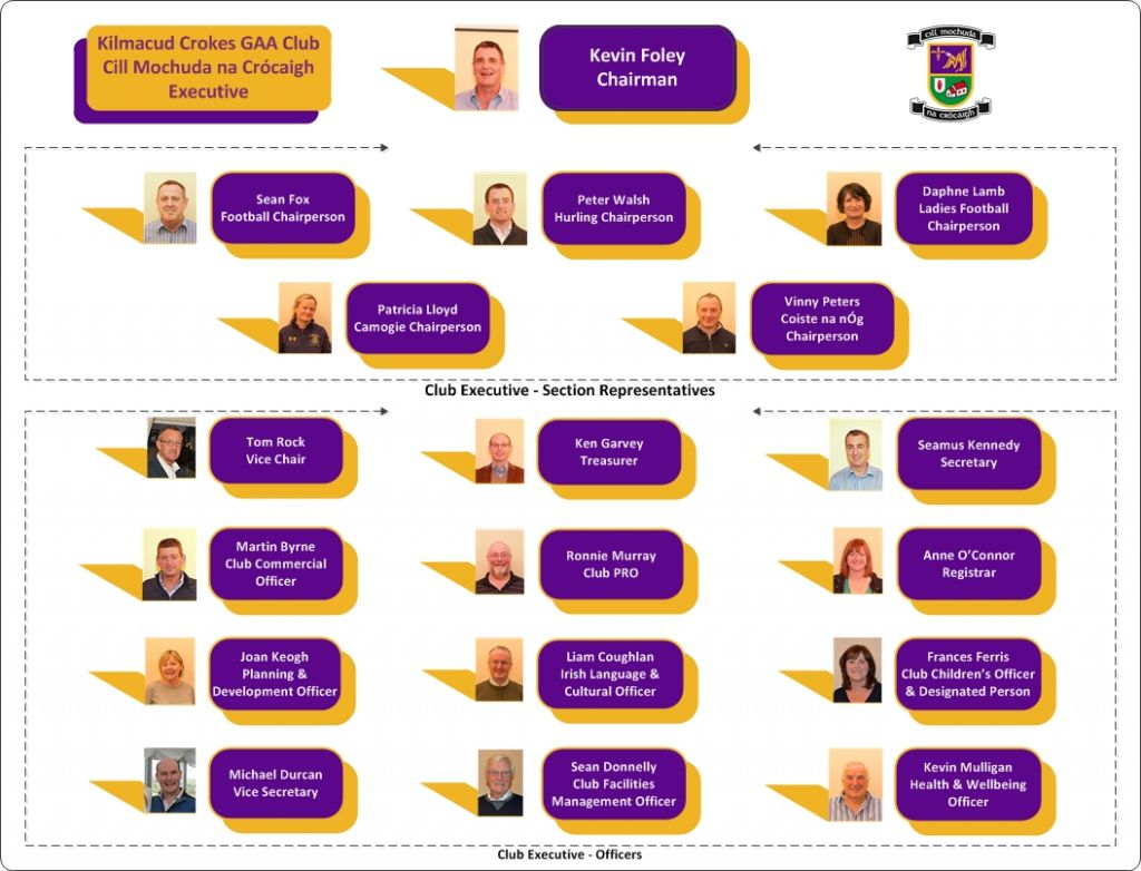Kilmacud Crokes Executive Committee