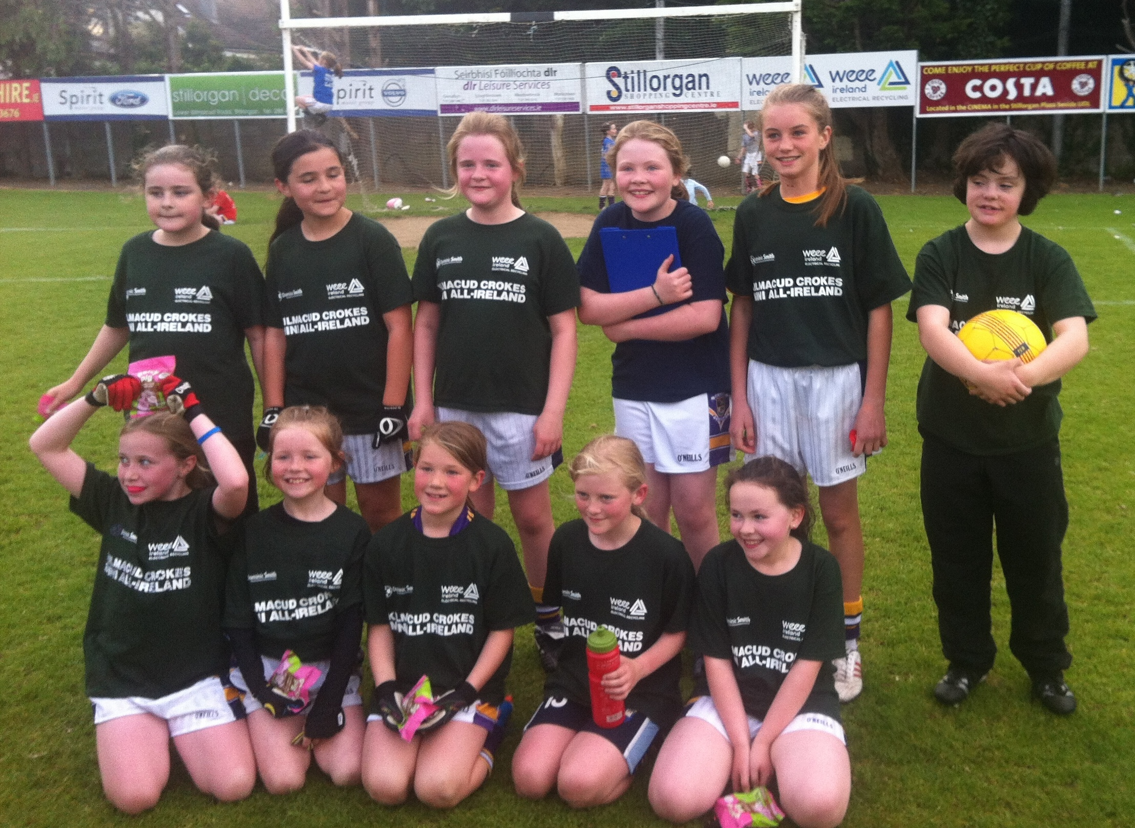 The Best Yet...in Ladies Football Mini All Ireland's