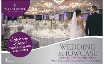 Talbot Hotel - Weddings showcase