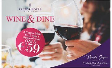 Talbot Hotel - Wine & Dine