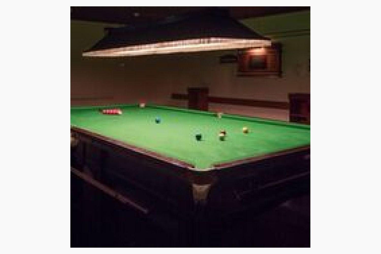 Snooker Room 1
