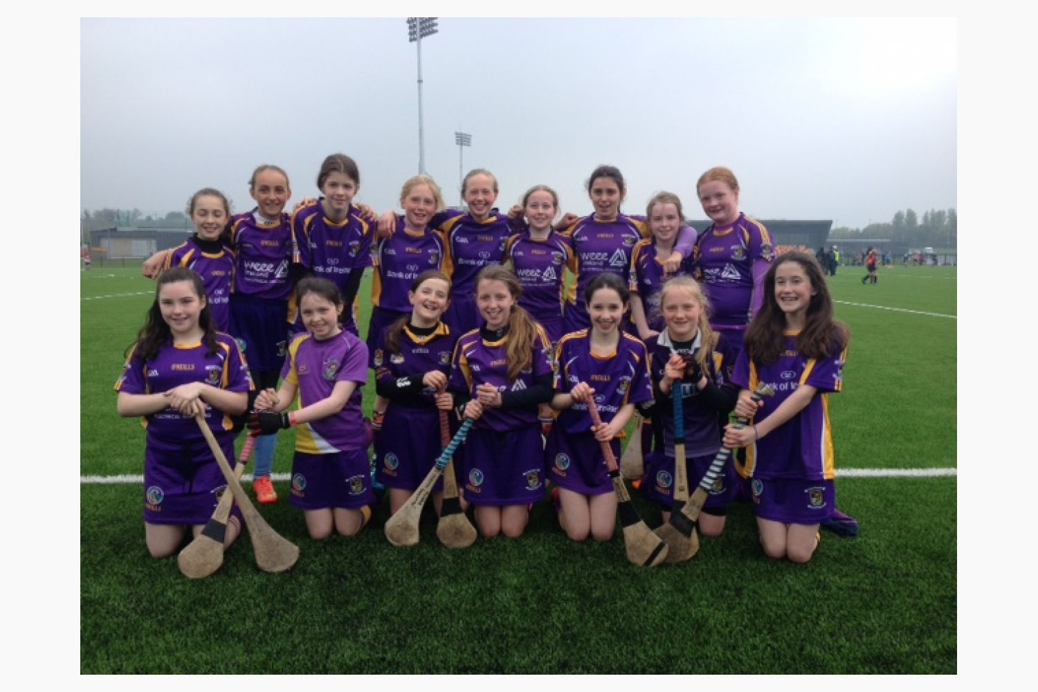 U12 Camogie Girls in Camán to Leinster blitz at National Sports Campus Abbotstown