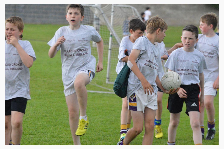 FOOTBALL MINI ALL IRELANDS  - FRIDAY'S FINALS FIXTURES