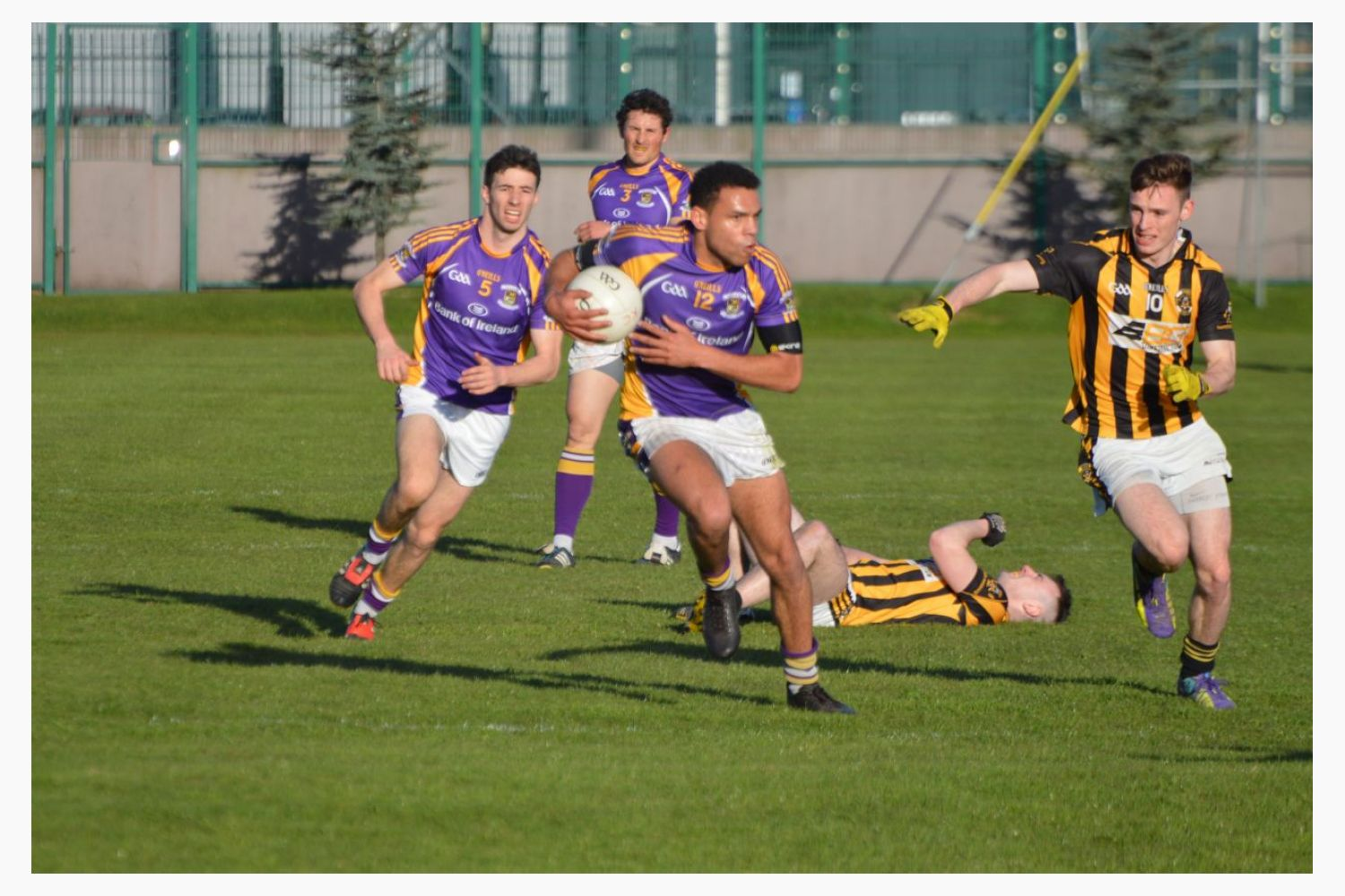 Championship Action this Weekend - Senior & Minor Football Teams