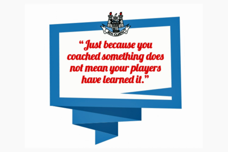 2016-2017 Coaching Programme