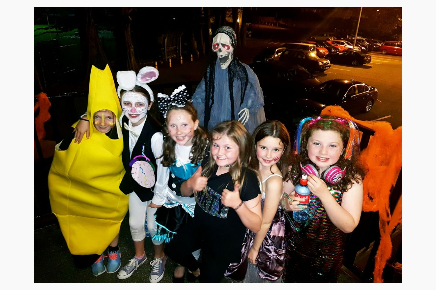 Trick or treat as Junior Camogie Girls dress up to celebrate ...