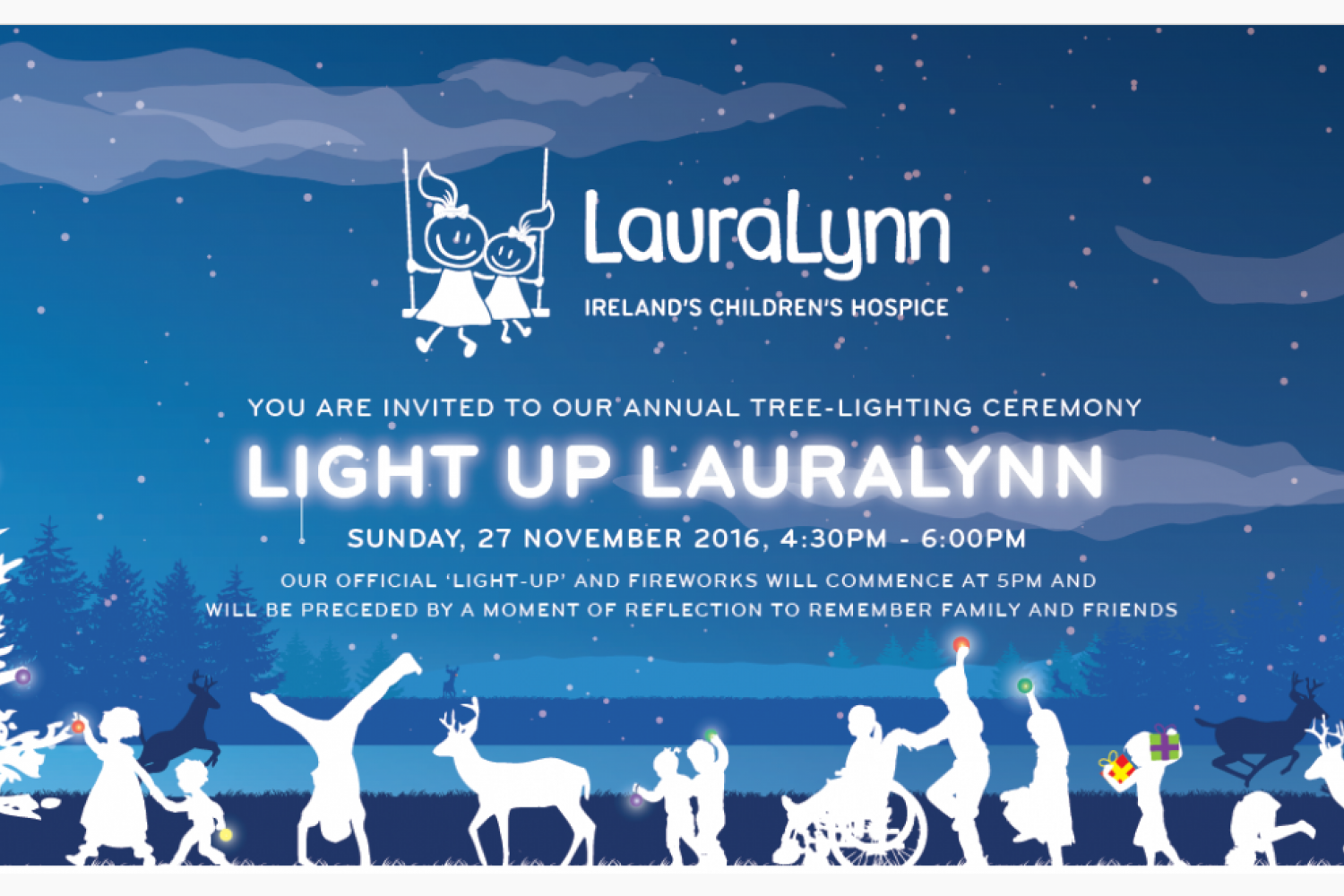 Light Up Laura Lynn  Sunday November 27th  4:30 - 6pm