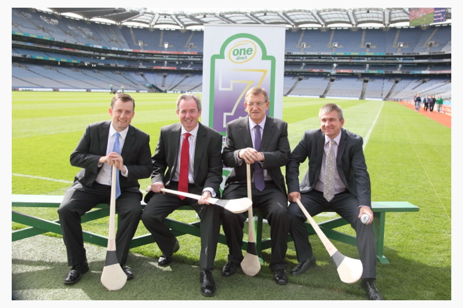 2012 Press Launch of One Direct Kilmacud Crokes Hurling