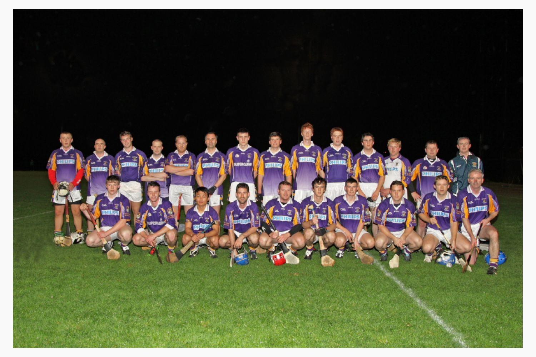 Kilmacud Crokes Junior D County Final Squad 2012