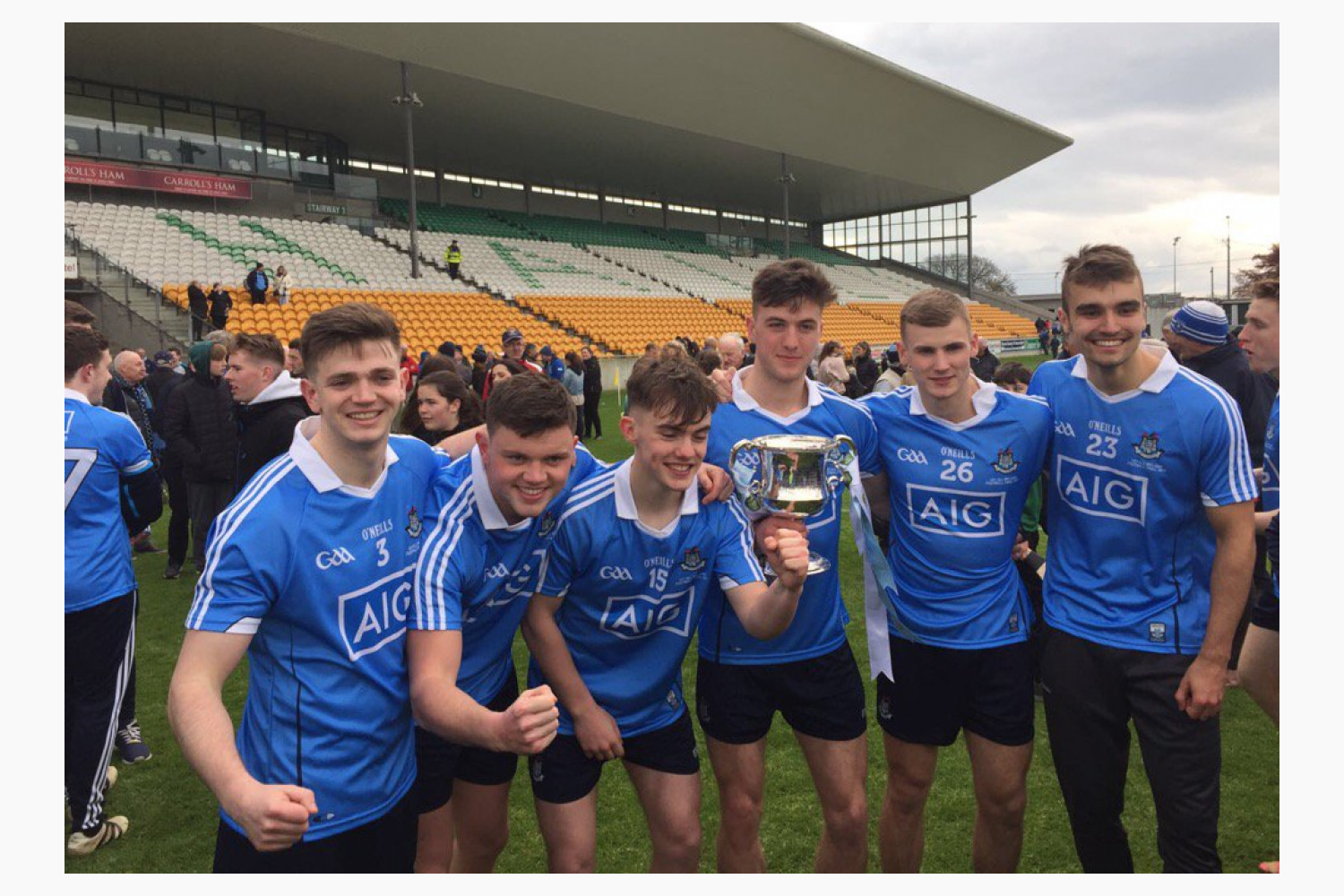 Congratulations to the Dublin U 21 Team - 6 Kilmacud Crokes