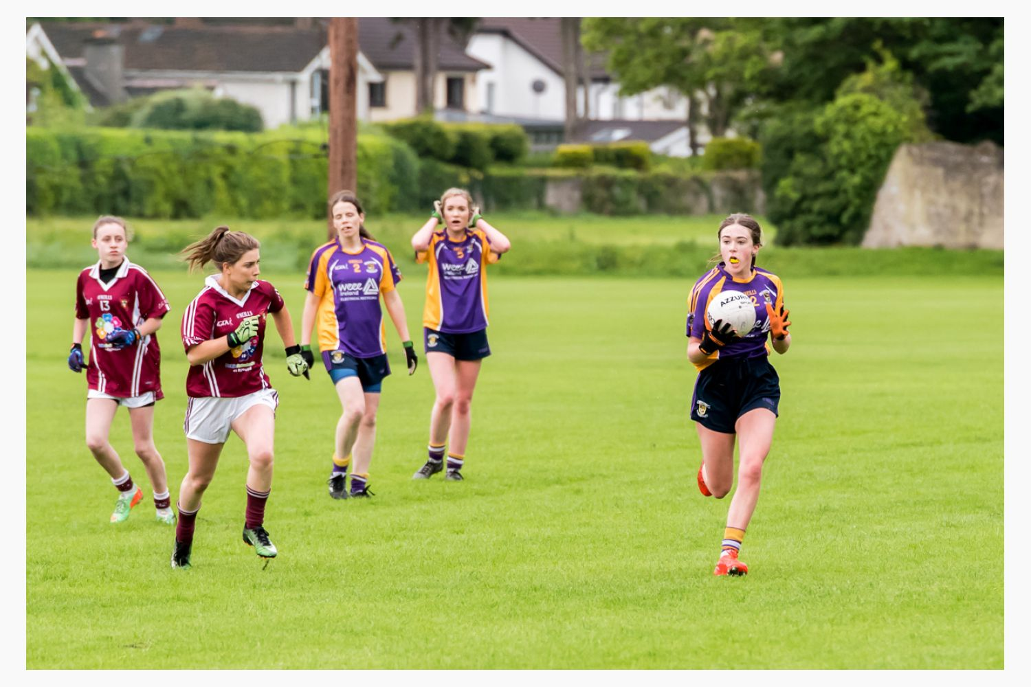 Junior F Ladies Football vs Raheny