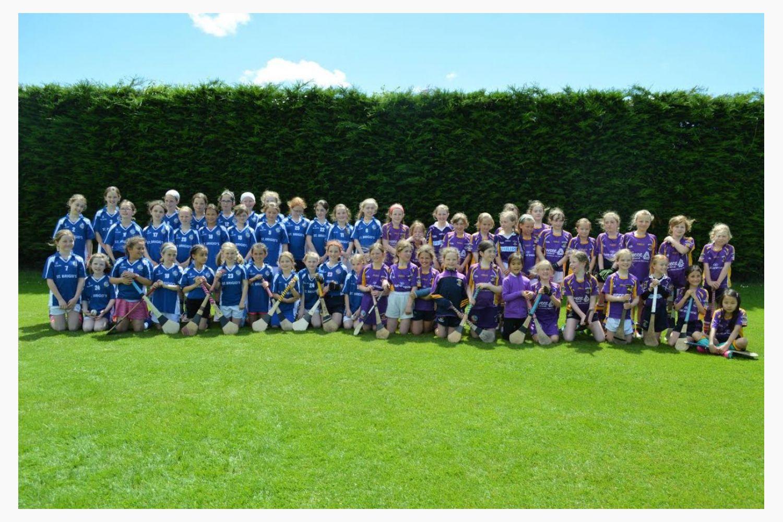 U9s travel to Kilkenny for pre-summer trip  U9s Group shot  with Graigue-Ballycallan