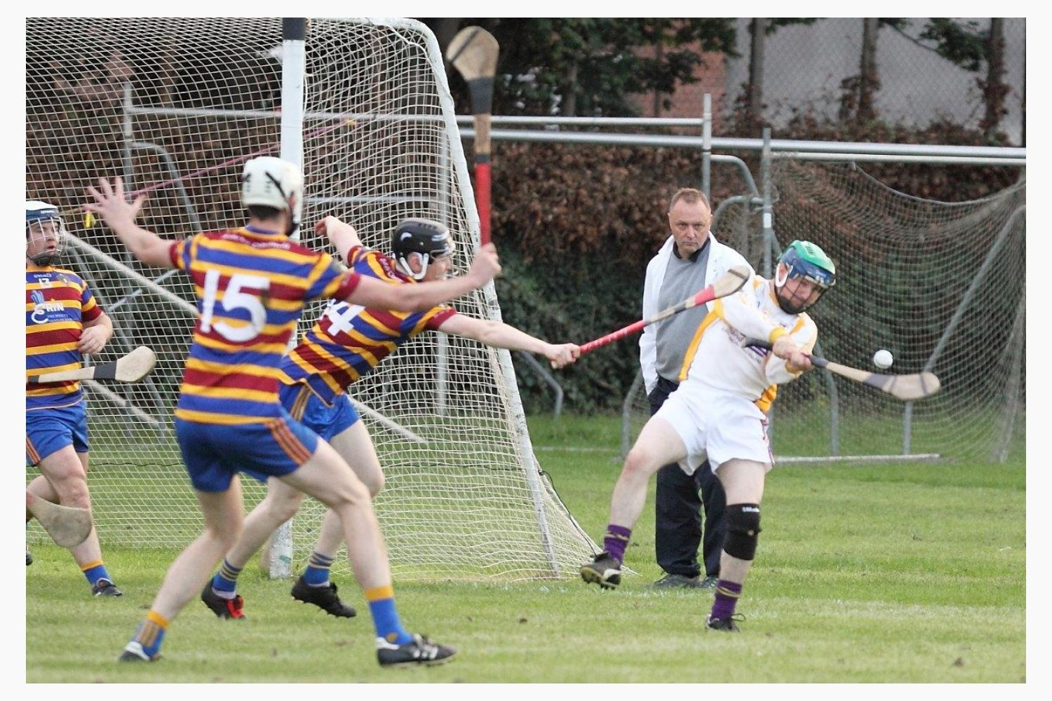 Strong performance by Intermediate Hurling Team in Quarter Final