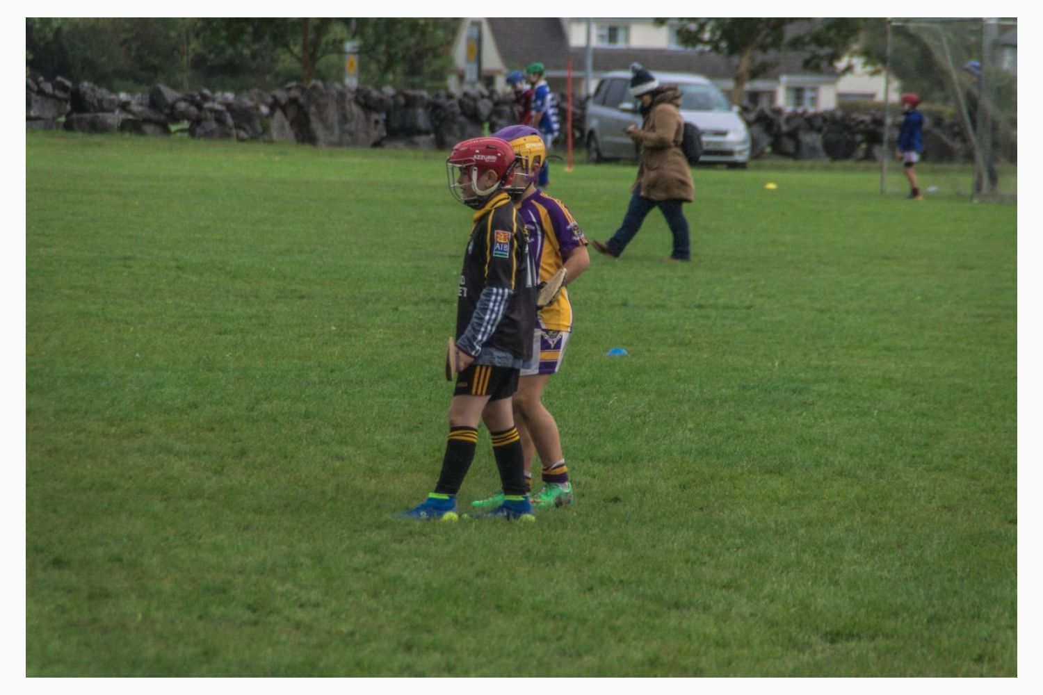 U10s on tour in Galway