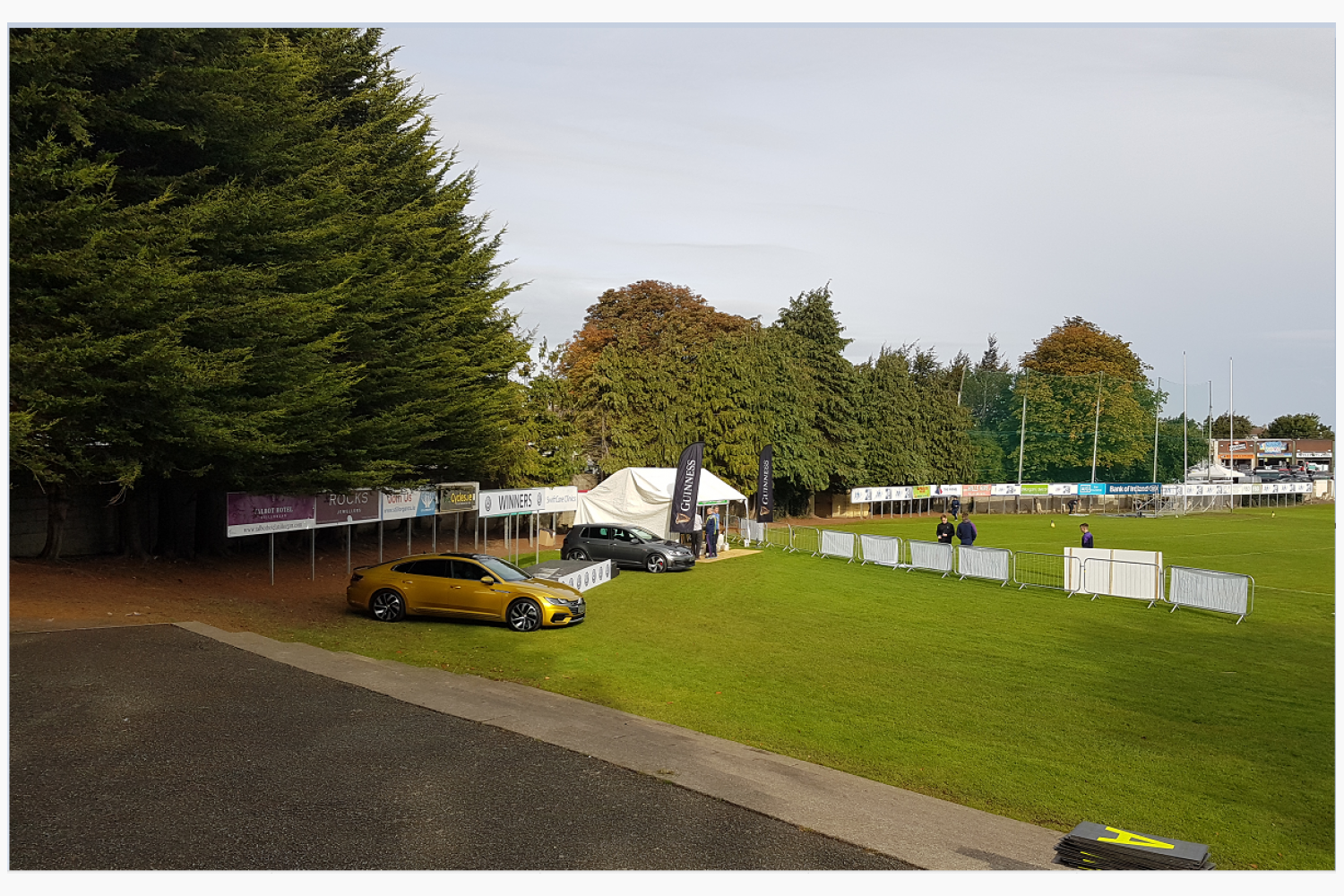 All Kicking Off At The Football  7's   - Check here for regular updates