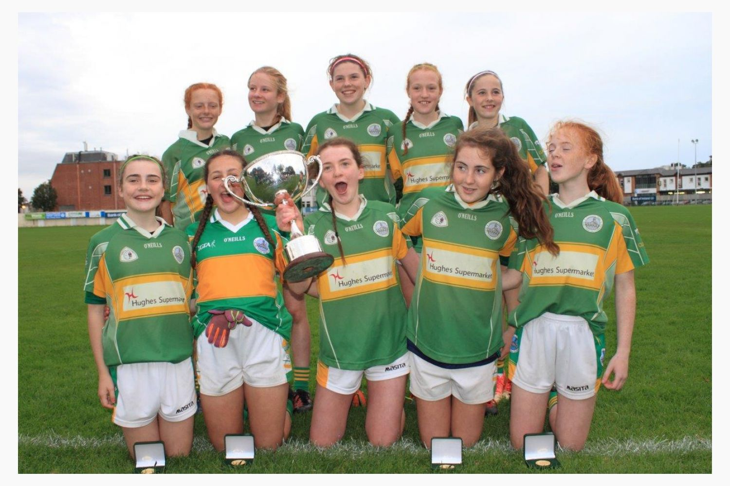 Chill Insurance All Ireland U14 Ladies Football 7s Cup Final