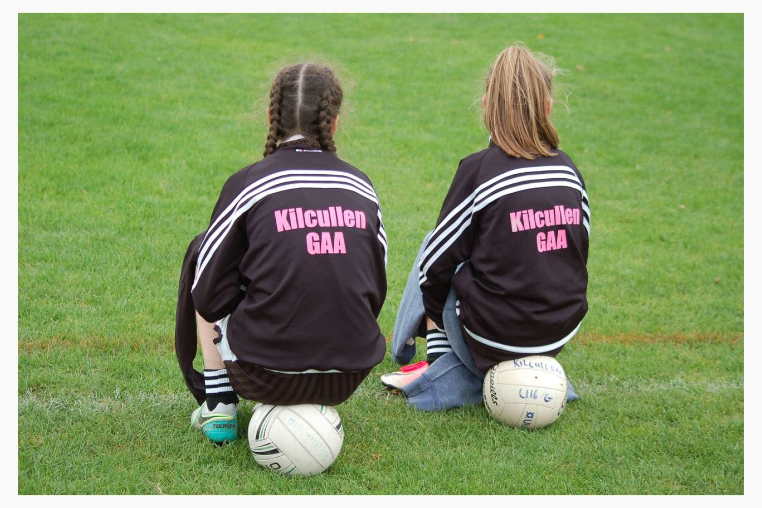 The fourteenth Chill-Insurance Kilmacud Crokes All Ireland U14 Ladies Football 7s