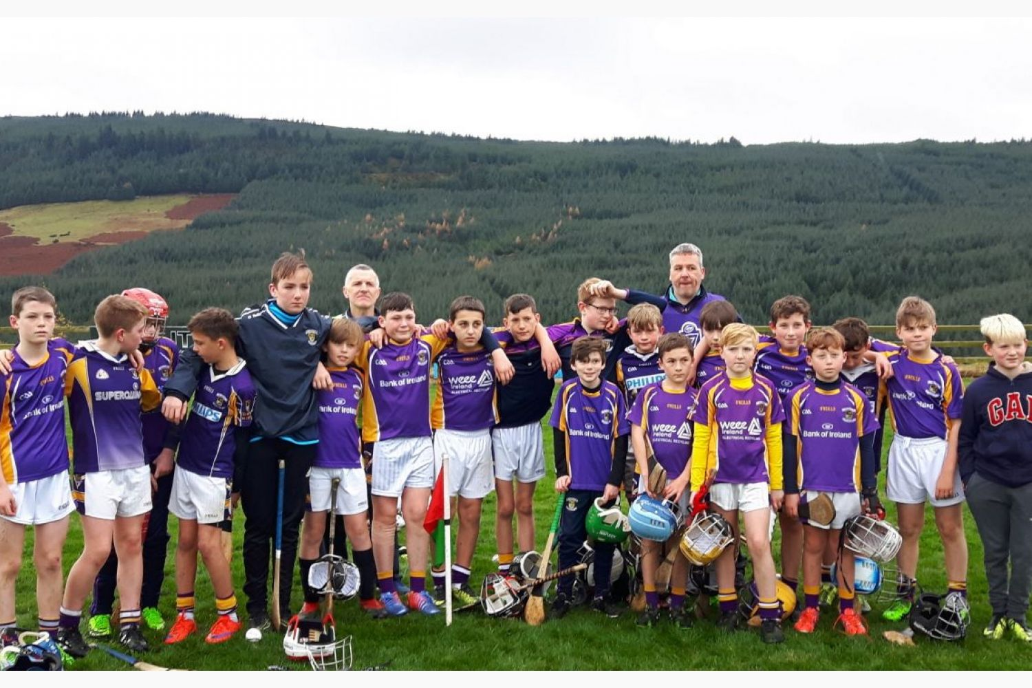 Gallant Crokes pipped at the post by Pine Forest Gaels in u12 County Final!