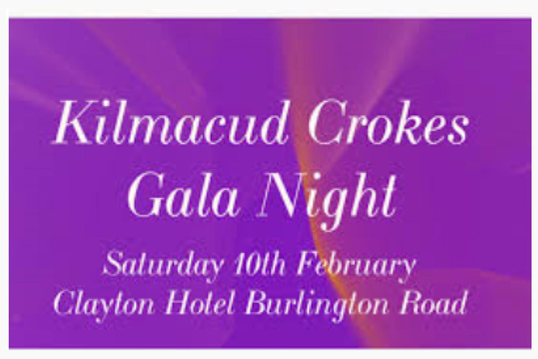 Crokes Gala Night Ticket Update