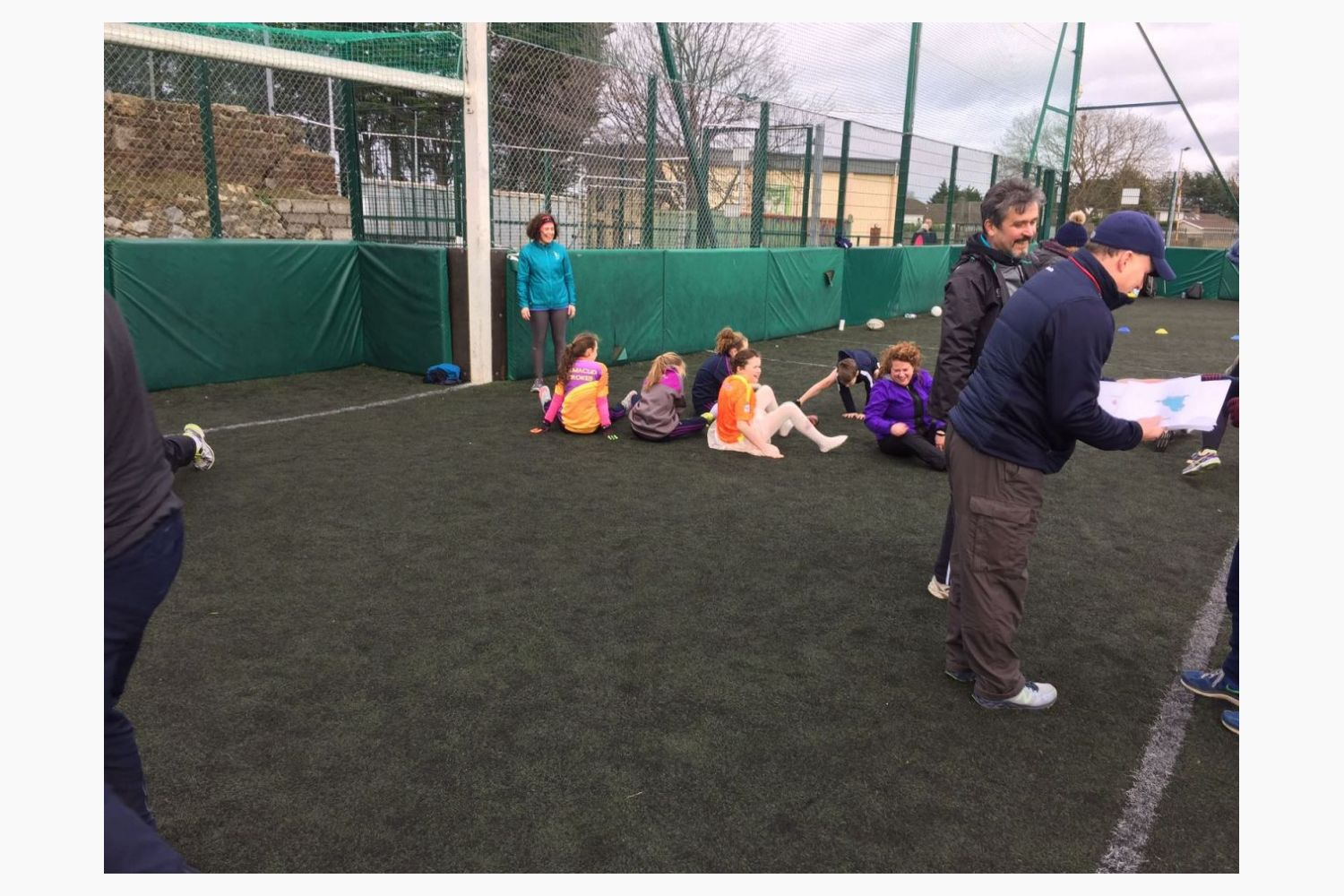 Sport 4 All Inclusion Activity, 1st Training Session Sunday 28th Jan 2018 in The Paddock