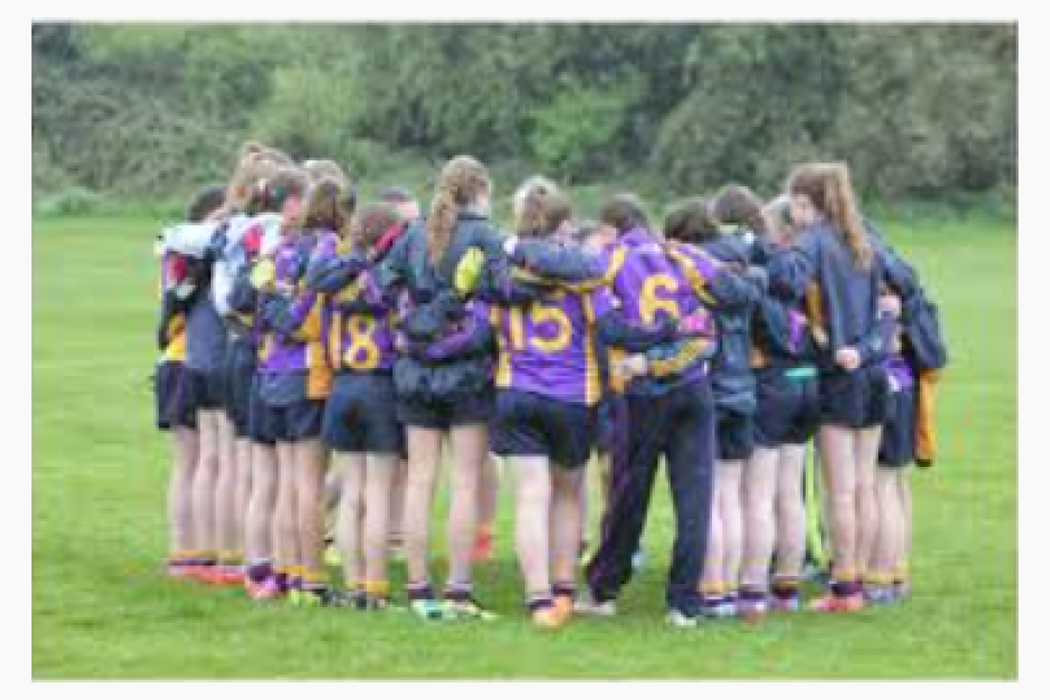 Best Wishes To All Our Ladies Footballers