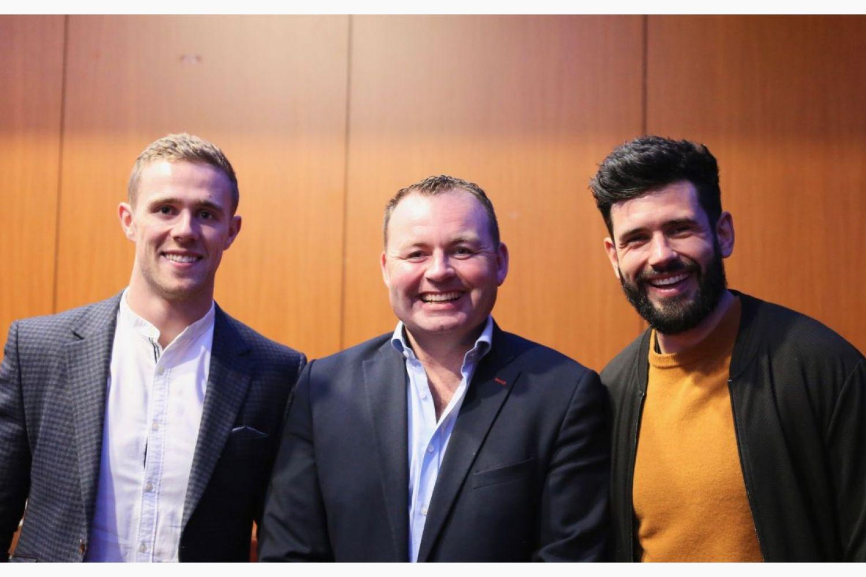 Evening With Jim Gavin, Cian and Paul Raises 2000 euro for Laura Lynn