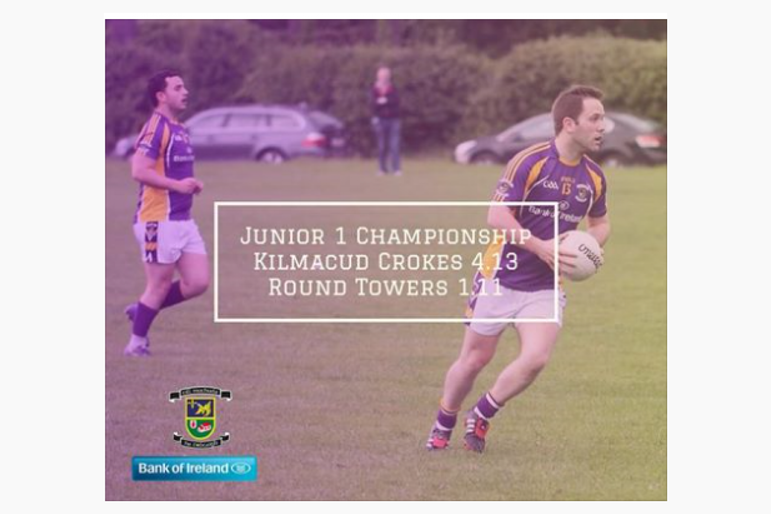 Another Great Weekend for Crokes Adult Football - Intermediate Fball Win coupled with All Junior Team's Winning 2nd riund Group Chmp games