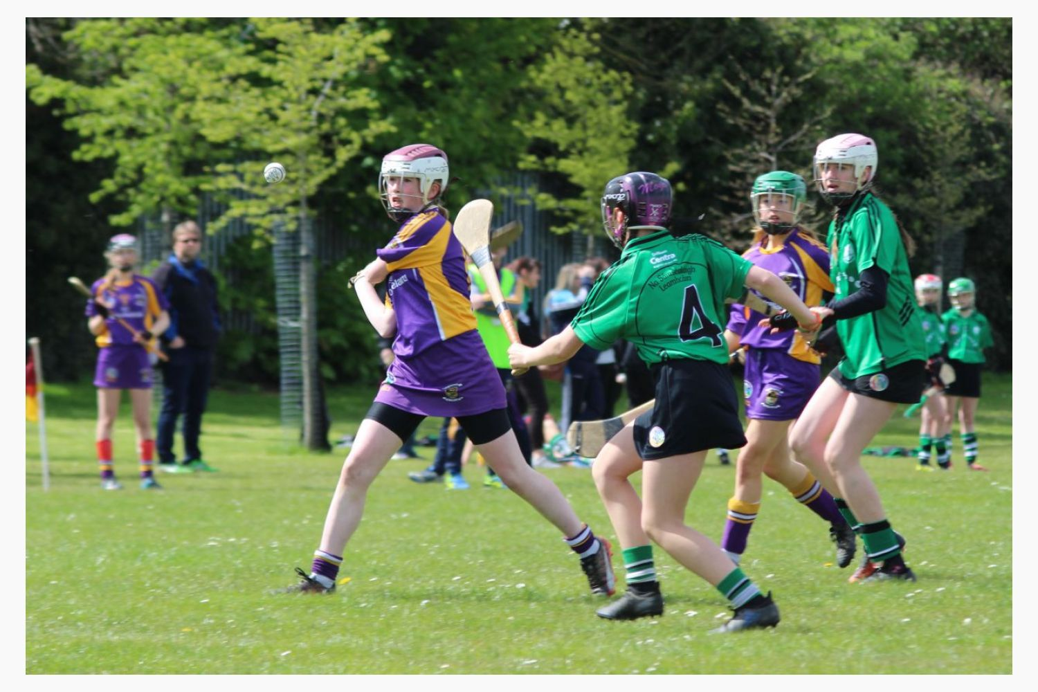KIlmacud Crokes in Action in Division 1 Feile At the Weekend