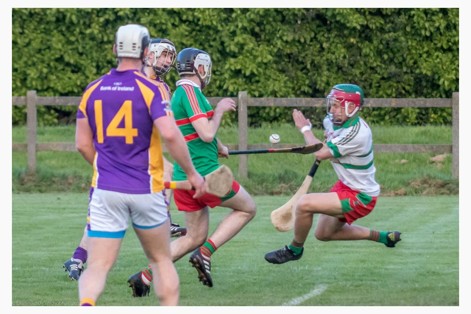 Championship - Senior Bs lose away to Naomh Barrog
