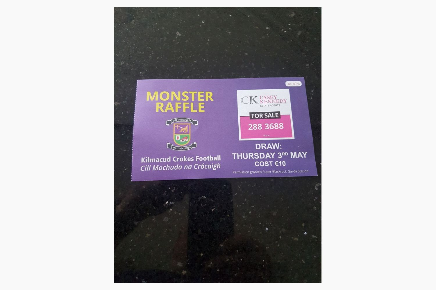 Football Monster Draw Results