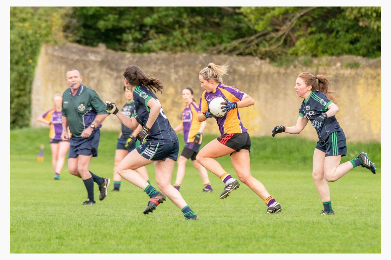 Photo's from Ladies Football Kilmacud Crokes B versus FoxCab League game