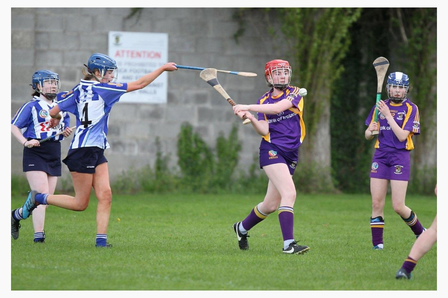 Very good performance for U16A camogie team