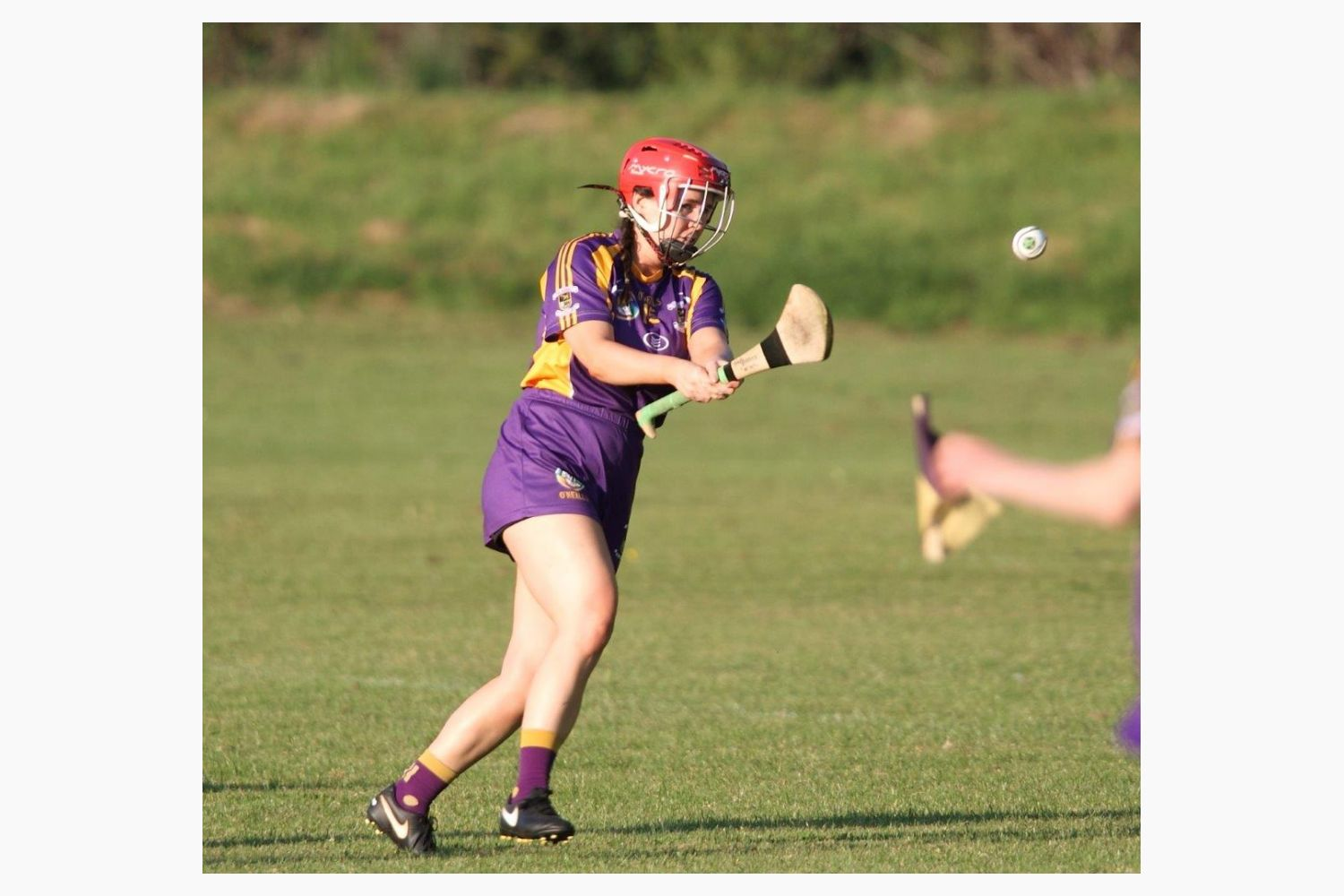 SeniorA Camogie team vs Erins Isle