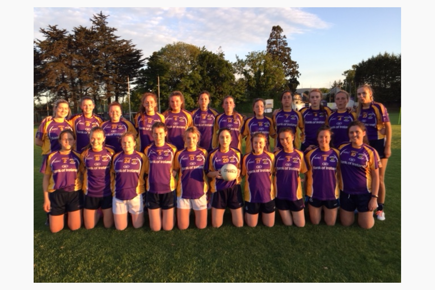New Ireland Assurance Ladies Senior Football Championship QF
