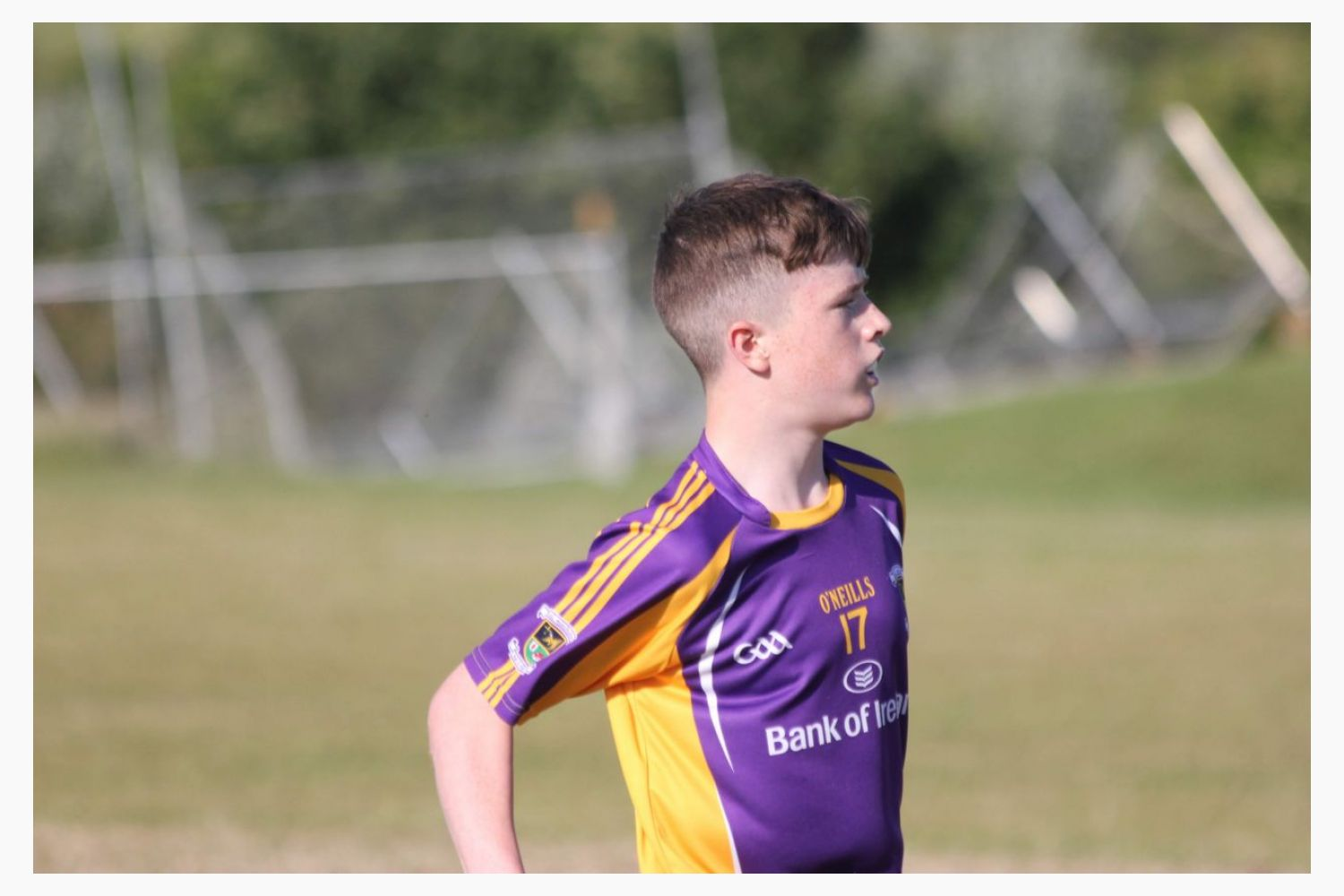 Photo's from Day 1 of the National All Ireland Division 1 Feile Competition