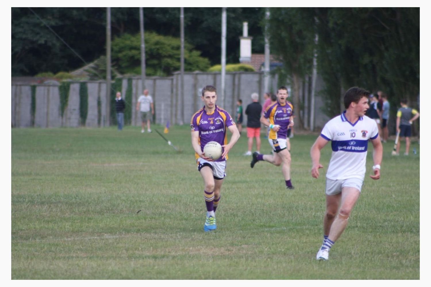 AFL1 League Game Kilmacud Crokes V Vincents Wednesday July4th Silverpark