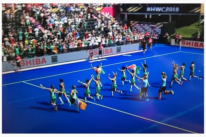 Well Done Deirdre and Team Ireland
