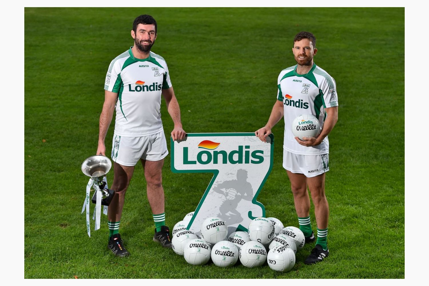 Londis tog-out for this year's All-Ireland Football Sevens