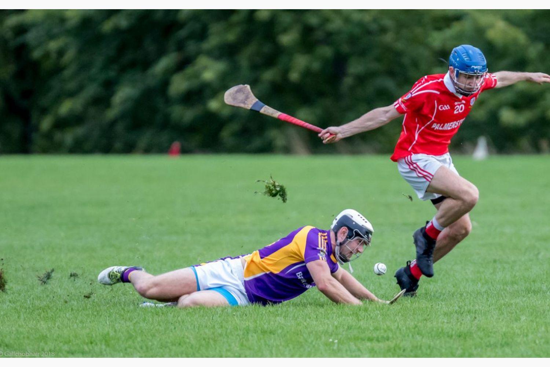 Senior B Championship Match Kilmacud Crokes v St Pats.