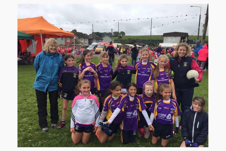 Passage West 2018 - U8 & U10 Ladies Football Blitz