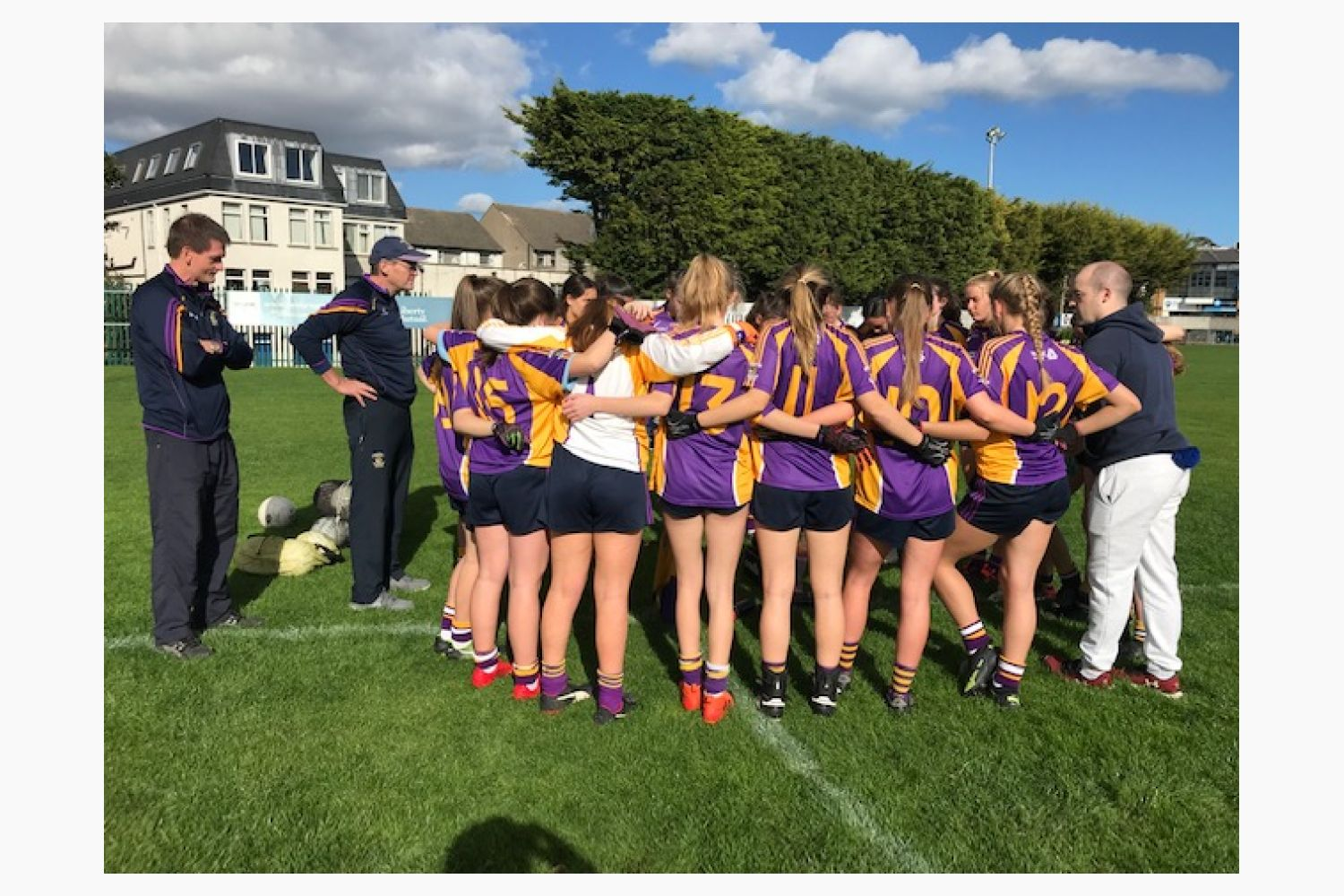 U15 A's Through to County Final !