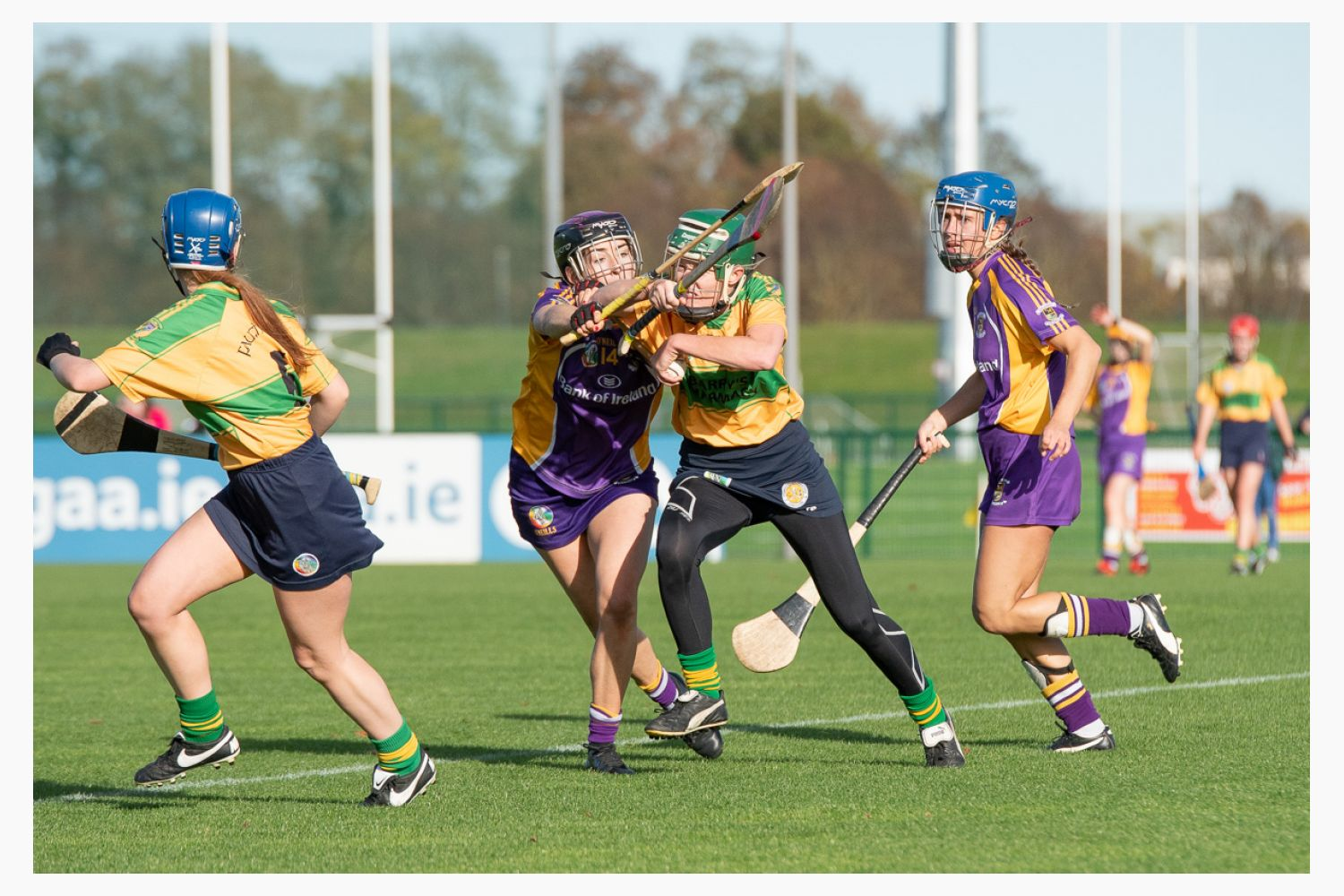 Senior 2 Camoige Championship Final Faughs/Celtic Versus Kilmacud Crokes Sunday October 14th
