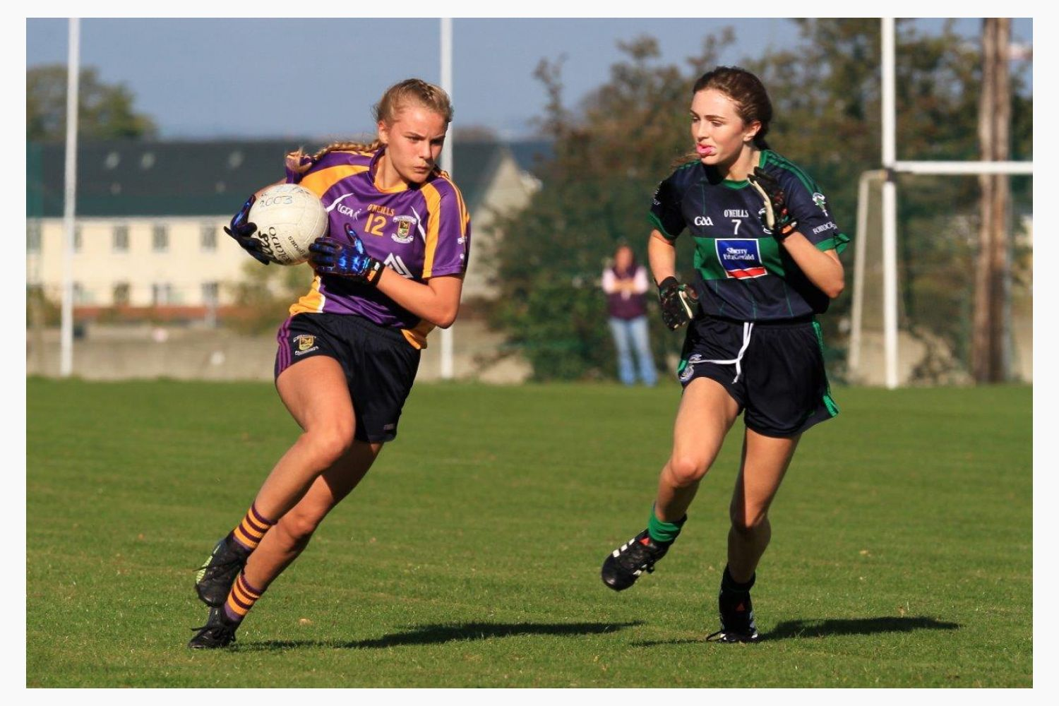 U15A Ladies Win County Football Championship