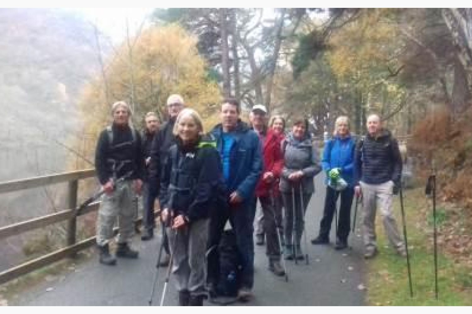 Walking Group Enjoy the Spinc Walk in Glendalough