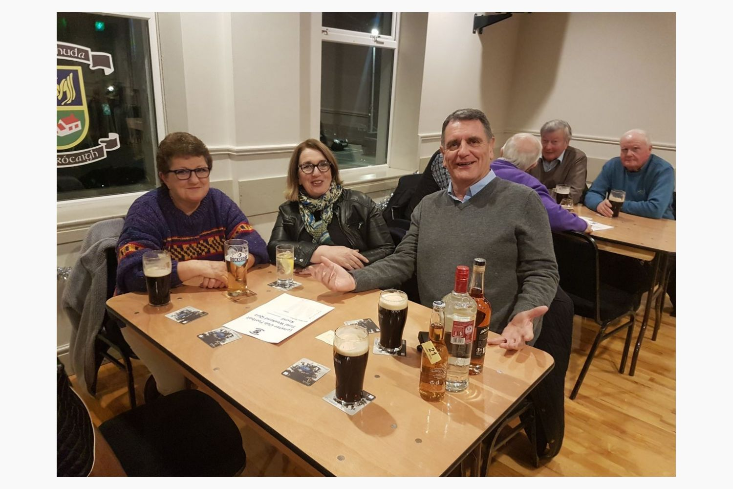Great Night at Football Section FundRaiser Quiz - Thanks to All Who Supported