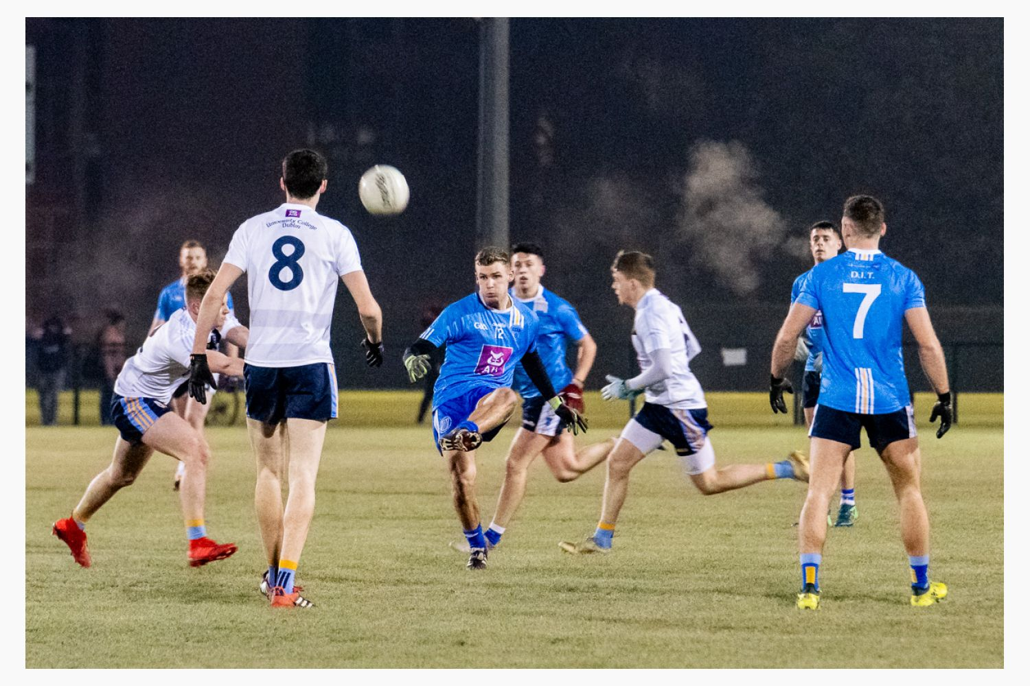 Sigerson Cup UCD v DCU   Kilmacud Crokes Contingent in Action