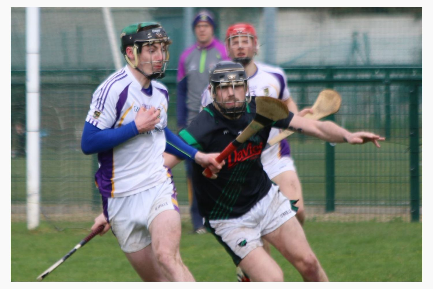 Senior 'B' Hurler's good win over Parnell's in Opening League Game of the 2019 Season