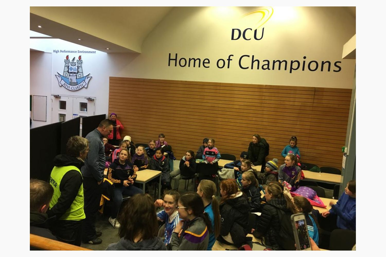 U12's Support Dubin Senior Ladies V Westmeath