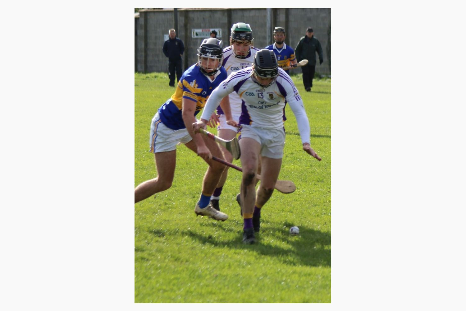 Senior 'B' Hurler's dig deep to beat Castleknock  in League
